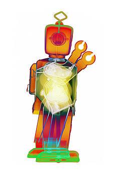 D4X X-ray Robot Art Photograph by Roy Livingston