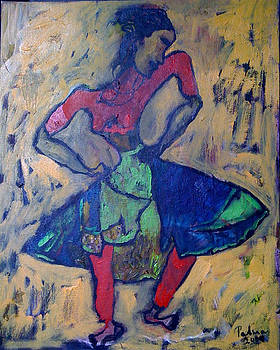 Dancer  by Padma Prasad