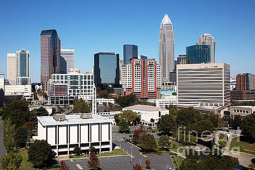 Bill Cobb - Downtown Charlotte North Carolina