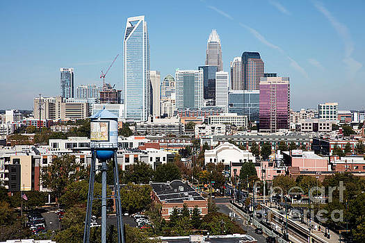 Bill Cobb - Downtown Charlotte North Carolina from the South End