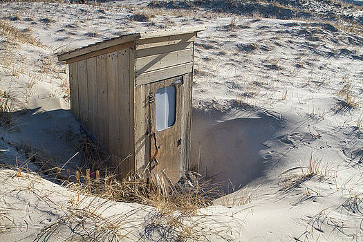 Dune Outhouse by Steven David Roberts