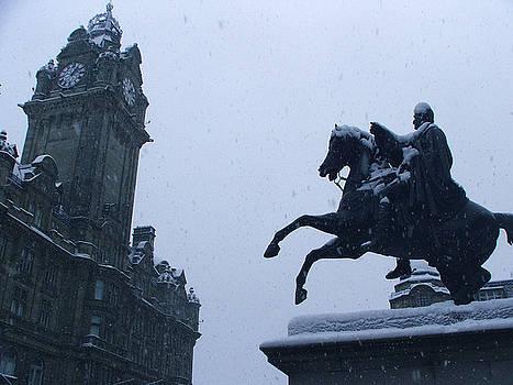 Edinburgh Scotland by Heather Lennox