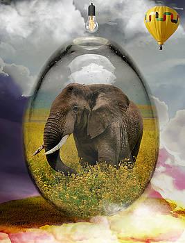 Elephant Art by Marvin Blaine