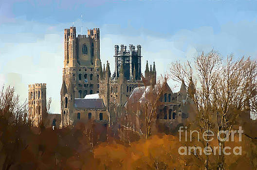 Ely Cathedral in city of Ely by Andrew Michael