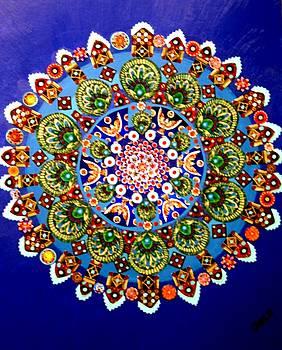 Fabric Flower by Bob Craig