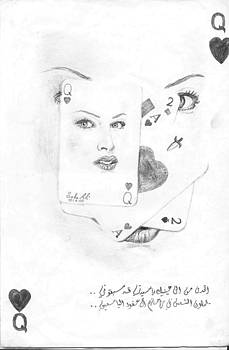 Face by Safa Al-Rubaye