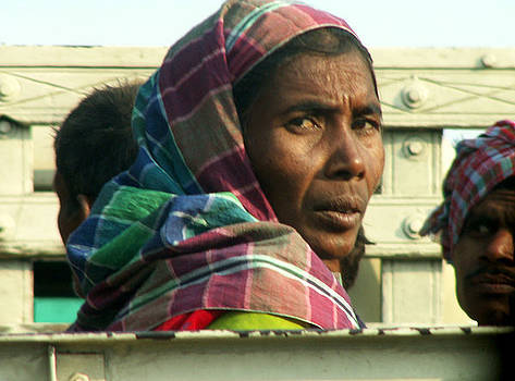 Faces of India - Woman Laborer by Steve Rudolph