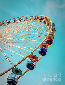 BERNARD JAUBERT - Ferris wheel