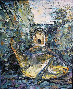 Fish in Exterior by Keren Gorzhaltsan
