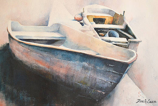 2 Fishing boat by Diane Agius