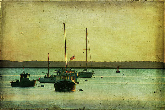 Fishing Boats by Cindi Ressler
