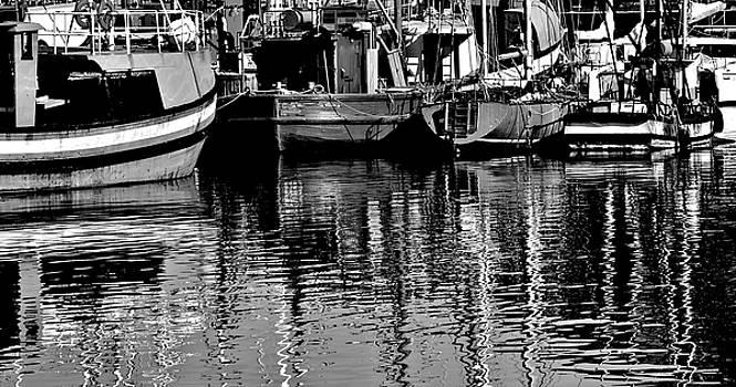 Fishing Boats by Werner Lehmann