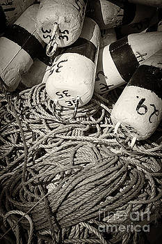 Elena Elisseeva - Fishing floats and rope