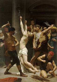 Flagellation Of Christ by Troy Caperton