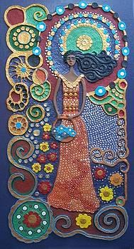 Flower Lady by Otil Rotcod