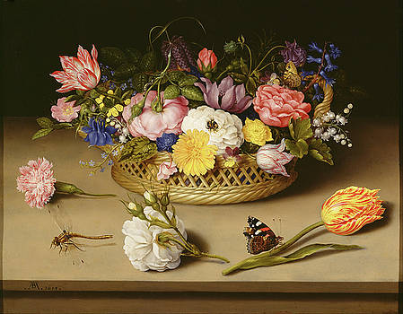 Ambrosius Bosschaert - Flower Still Life