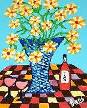 Flowers by Ted Hebbler