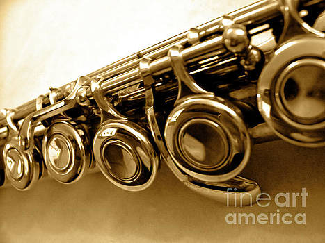 Flute Macro by Jenness Asby