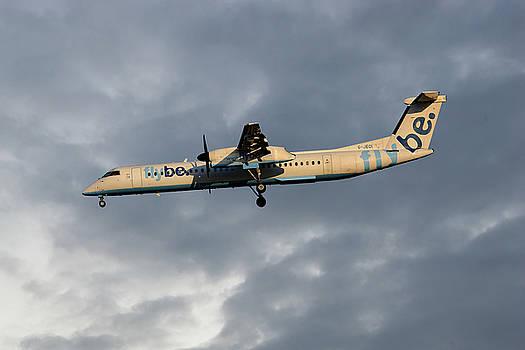 Flybe Bombardier Dash 8 Q400 by Nichola Denny