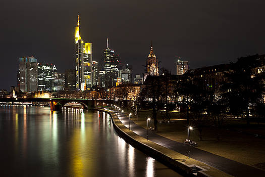Frankfurt by Night by Francesco Emanuele Carucci