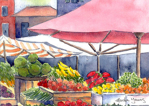Fruit Market by Marsha Young