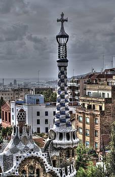 Gaudi's church by Isaac Silman