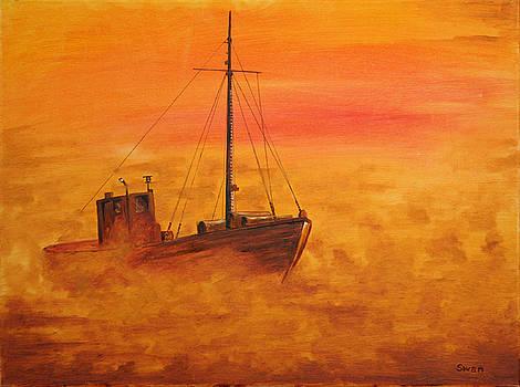 Gavins Boat by Graham Swan