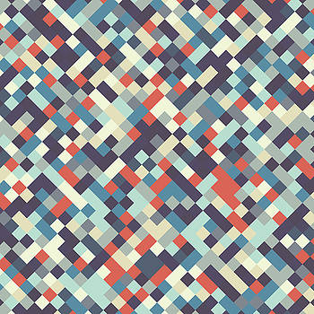 Geometric Print by Mike Taylor
