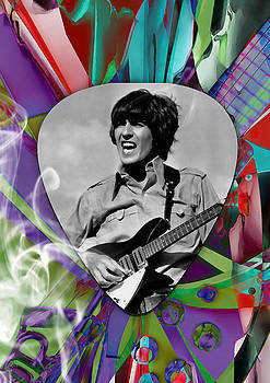 George Harrison The Beatles Art by Marvin Blaine