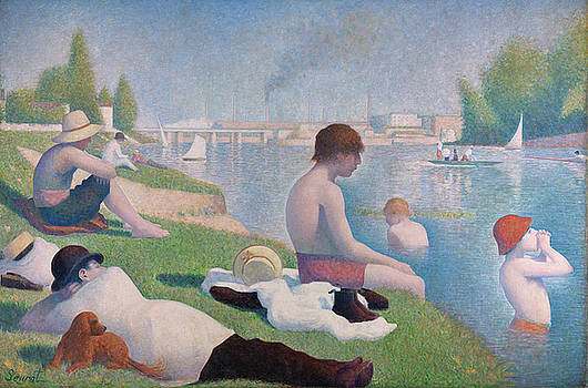Georges Seurat by MotionAge Designs