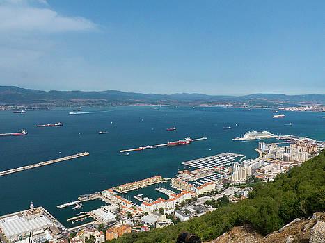 Gibraltar rock by Tamara Sushko