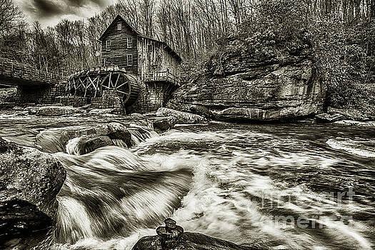Glade Creek Grist Mill  by Thomas R Fletcher
