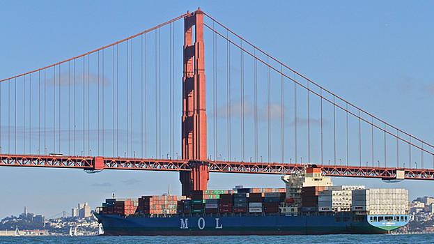 Steven Lapkin - Golden Gate Traffic