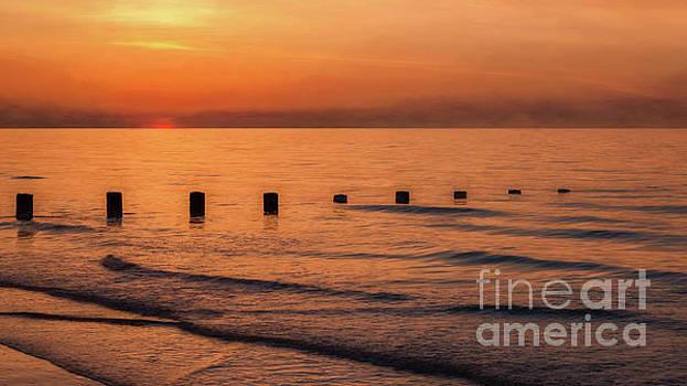 Golden Sunset by Adrian Evans