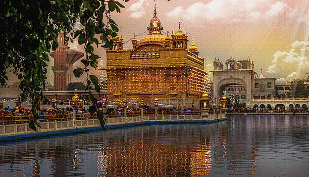 Golden Temple  by Manjot Singh Sachdeva