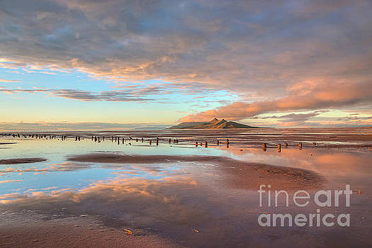 Great Salt Lake Sunset by Spencer Baugh