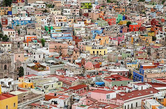 Guanajuato, Mexico. by Rob Huntley