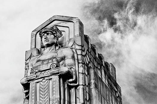 Guardian of Traffic by Rod Flauhaus