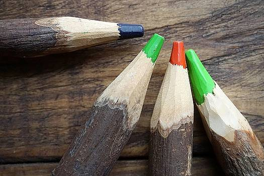 Handcrafted Pencils by Francisco R Vernet