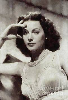 Mary Bassett - Hedy Lamarr, Vintage Hollywood Actress