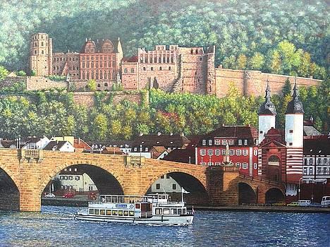 Heidelberg Castle by Michael Winston