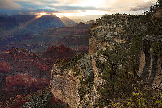 Hopi Point Sunrise by Mike Buchheit