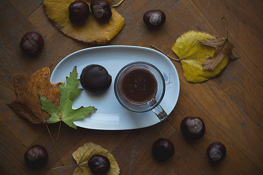 Hot chocolate for cold autumn days by Newnow Photography By Vera Cepic