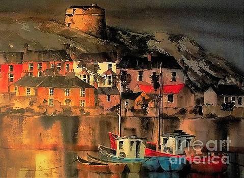 Val Byrne - Howth Sunset Dublin