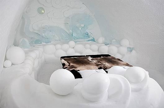 Ice hotel, in the north of Sweden by Tamara Sushko