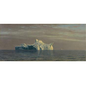 Iceberg by Albert Bierstadt
