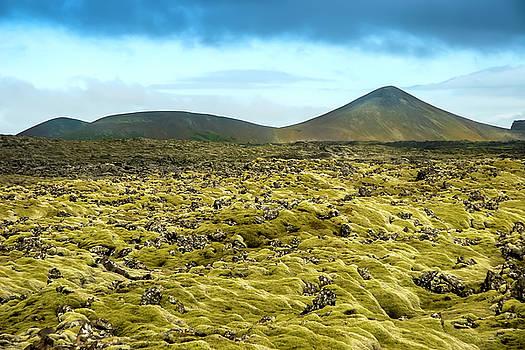 Icelandic Landscape by KG Thienemann