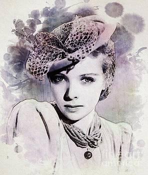 John Springfield - Ida Lupino, Vintage Actress