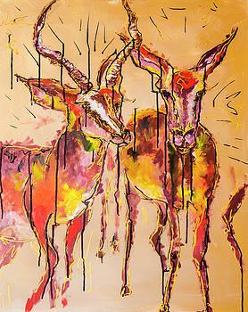 2 Impalas by Rina Bhabra