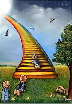 Over the Rainbow   -In Memory of Matilda by Carmen Cordova